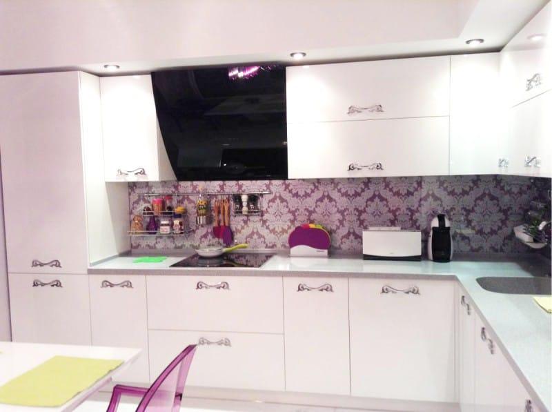 фартук для кухни из пластика фото идеи дизайна пластиковыми панелями