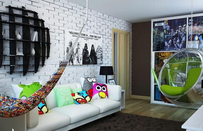комната для мальчика подростка