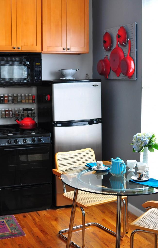 Маленькие кухни 6 кв. м