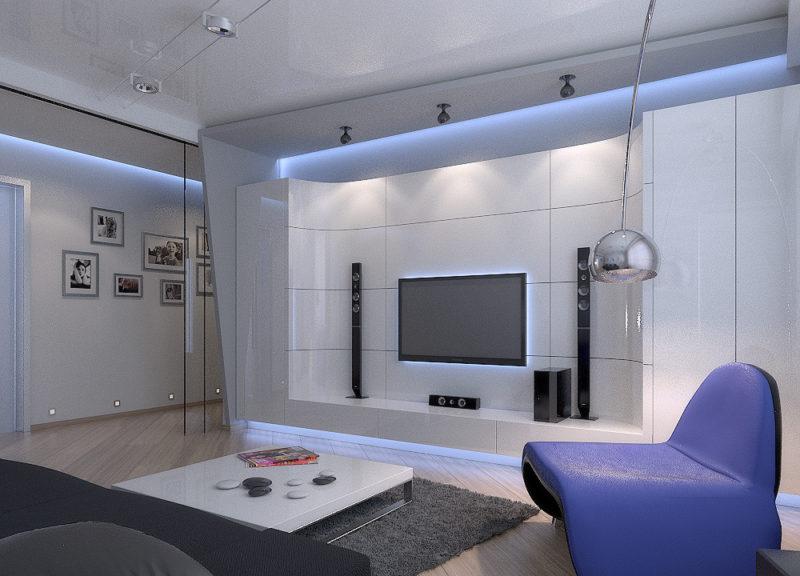 интерьер гостиной 18 кв м фото