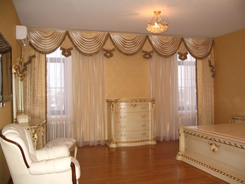 шторы с ламбрекеном