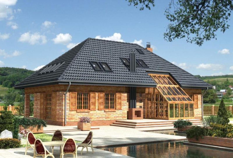 Варианты крыши частного дома