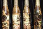 декупаж бутылок