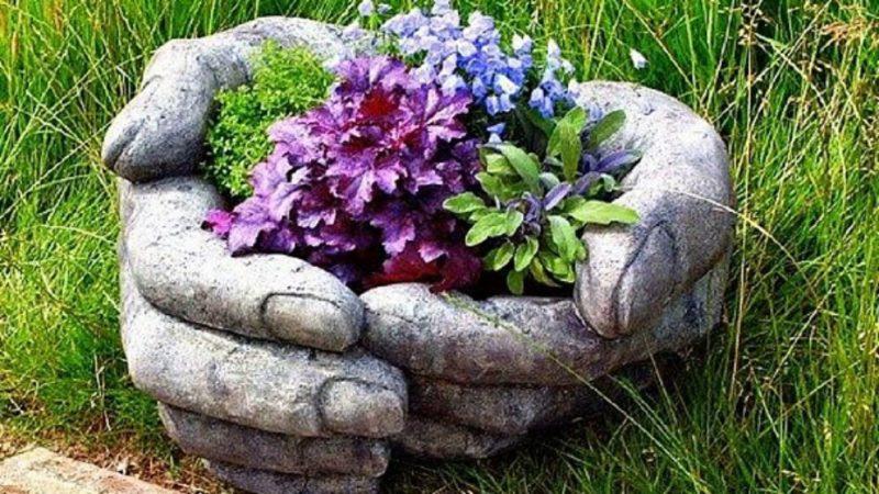 Цветники своими руками на даче: идеи, советы, фото 49