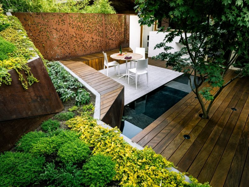 дизайн ландшафта частного дома