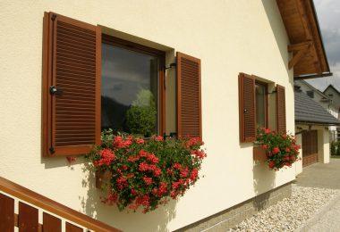 деревянные ставни на окна