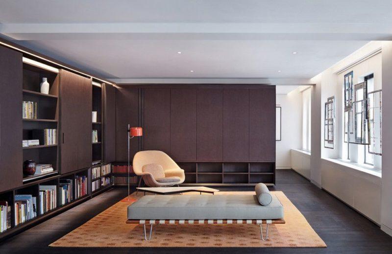 Стенки для гостиной в современном стиле