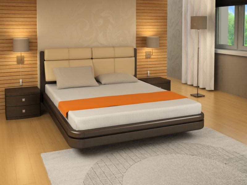 размеры двуспальной кровати
