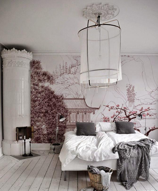 Фотообои в спальню