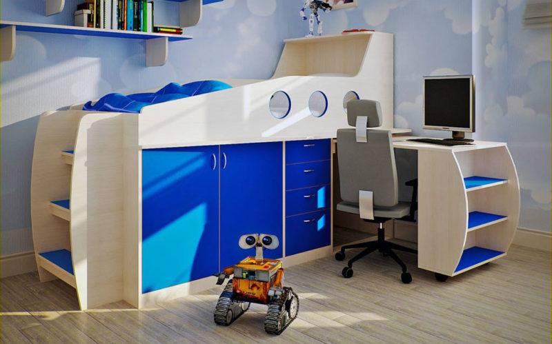 Безопасная мебель в детской