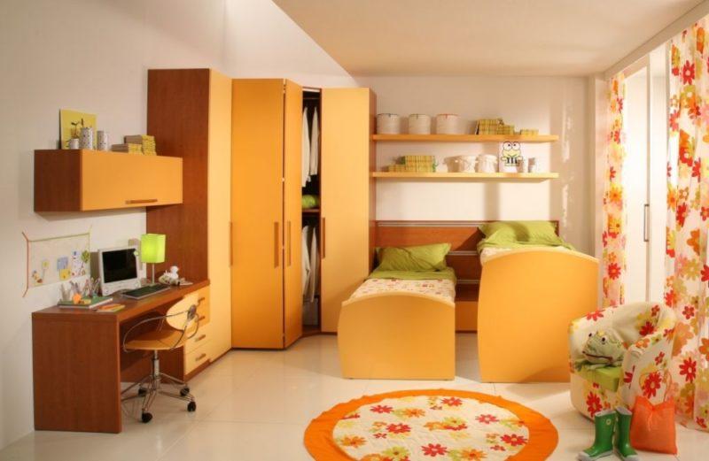 Детская комната для школьников