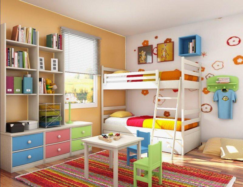 Дизайн детской для двух мальчиков