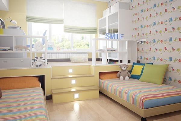 Компактная мебель в детской