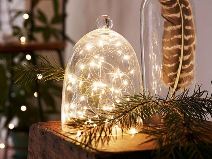 Новогодние светильники своими руками