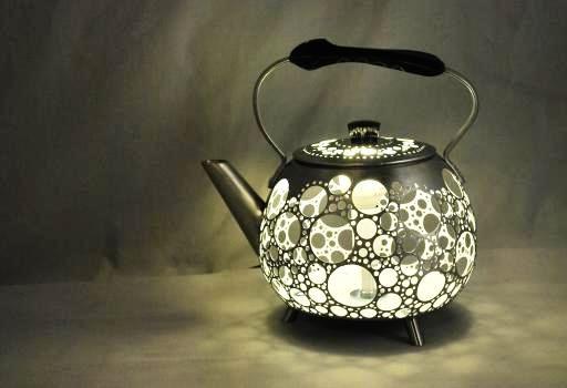 Светильник своими руками из чайника