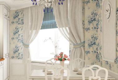 шторы для кухни как элемент дизайна