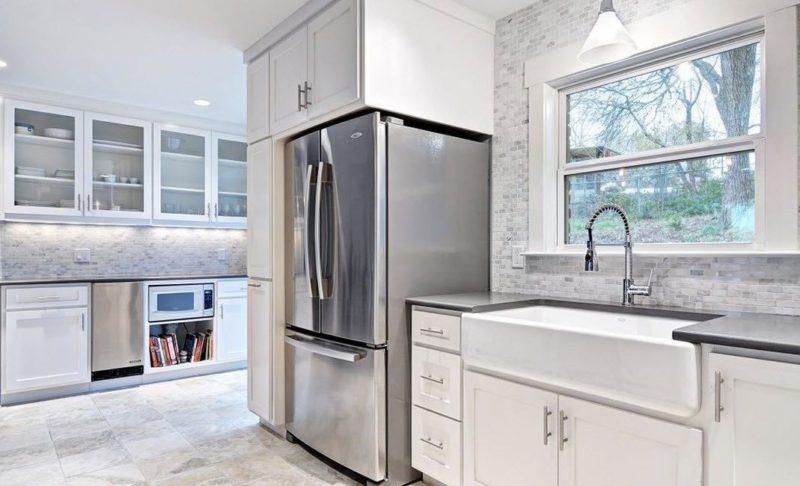Мебель для кухни с фартуком