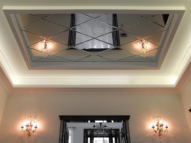 многоуровневые и комбинированные конструкции потолка из гипсокартона в спальне