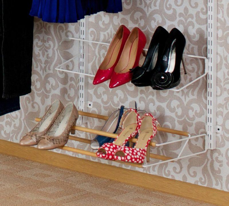 Декоративные элементы - украшение полки для обуви
