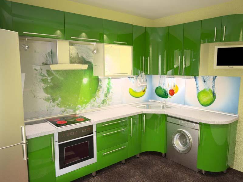 оформление кухни пластиковыми панелями