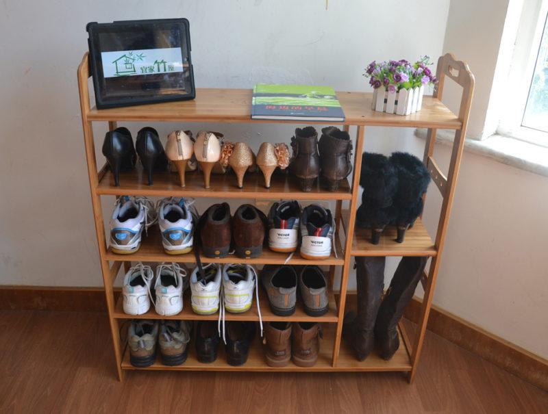 Сделай сам: полка для обуви