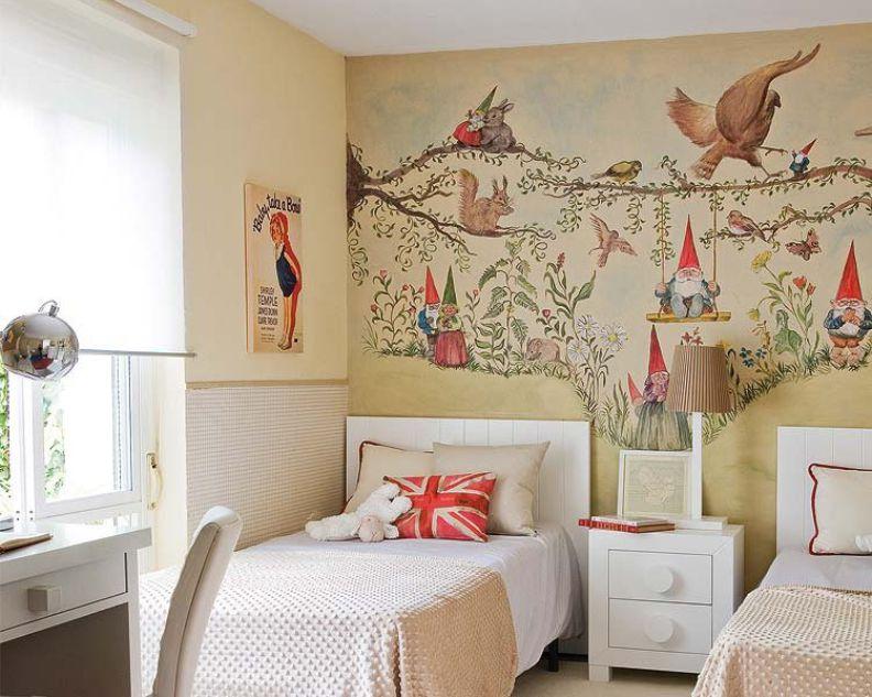 как покрасить стены в детской