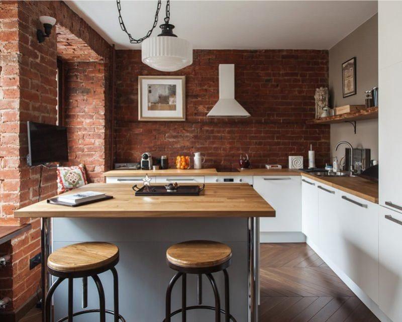 Дизайн: кухня в стиле лофт