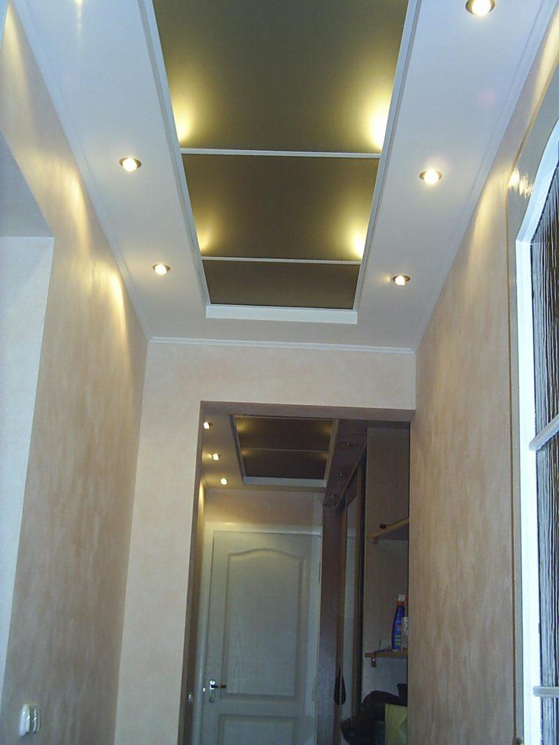 гипсокартонные потолки в коридоре