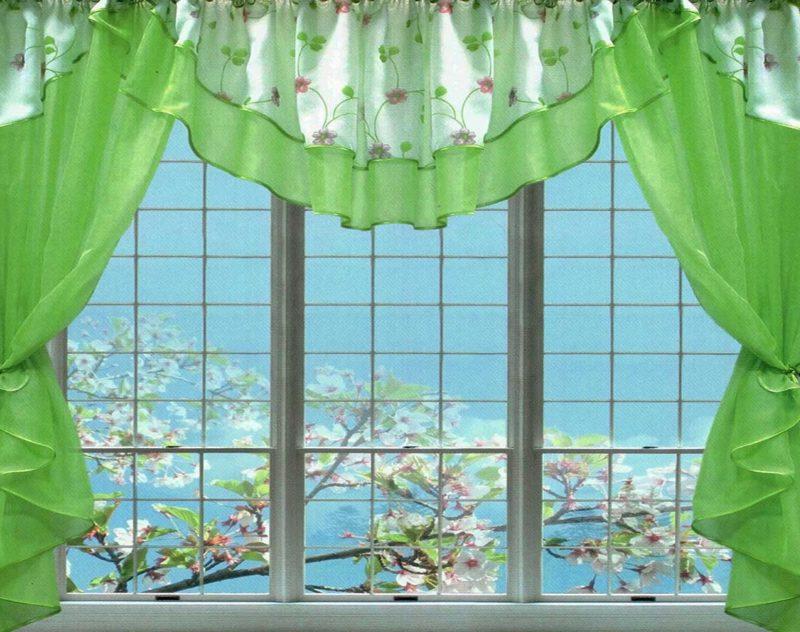 кухня: как оформить окно красиво
