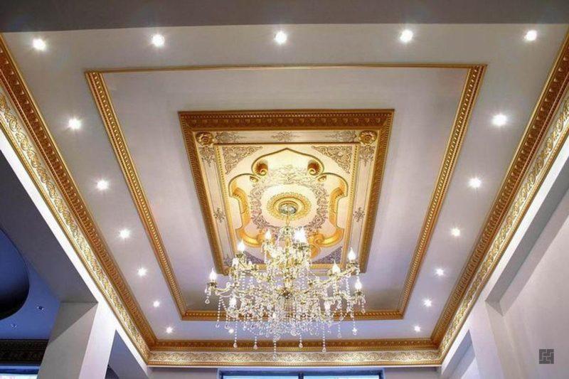 оригинальные потолки из гипсокартона
