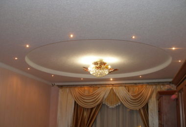 потолок из гипсокартона в квартире