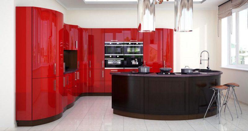 Дизайн интерьера: кухни в разных стилях