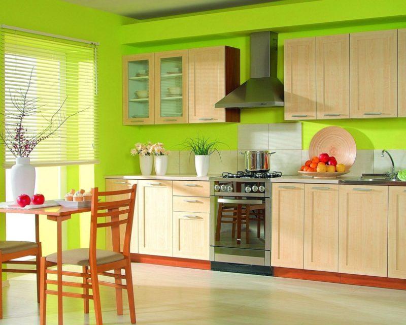 выбор на кухню краску