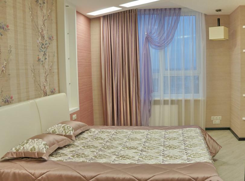 Дизайн спальни: занавески