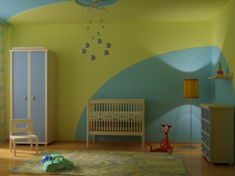 Квартира: красим стены