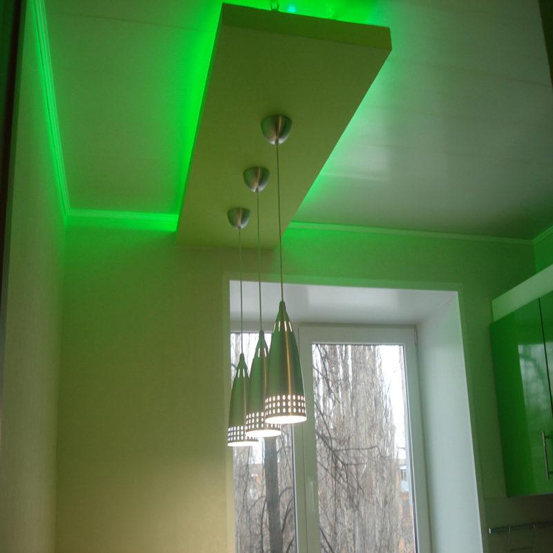 Выбор светильников для потолков из гипсокартона