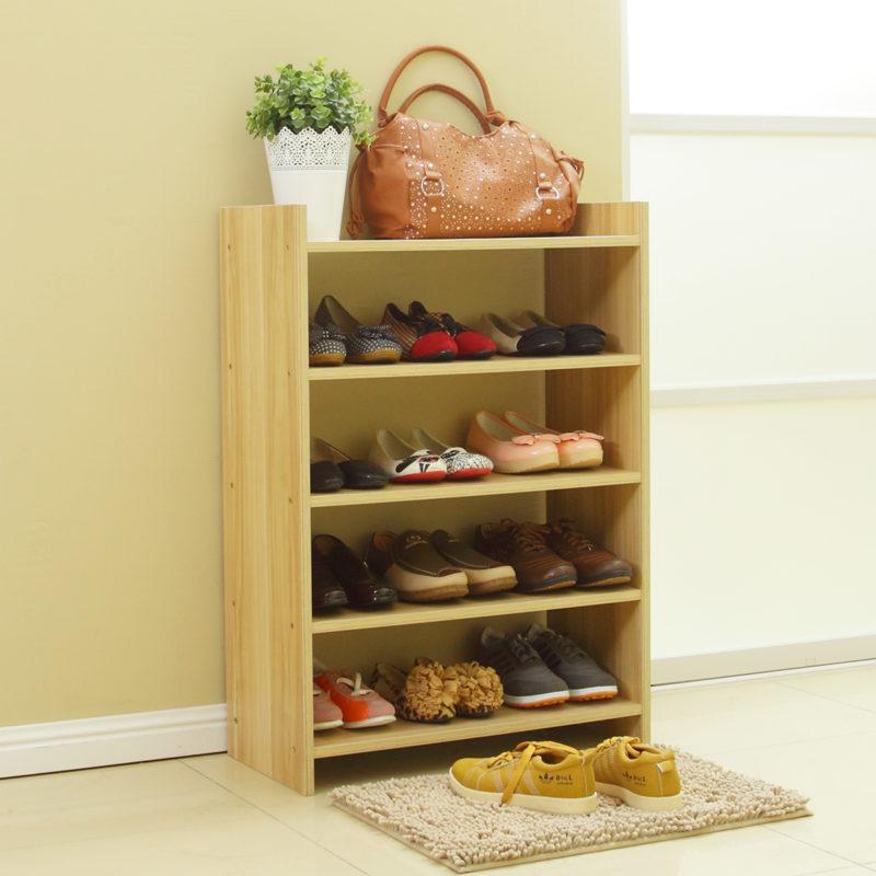 Размер полки для обуви, делаем самостоятельно