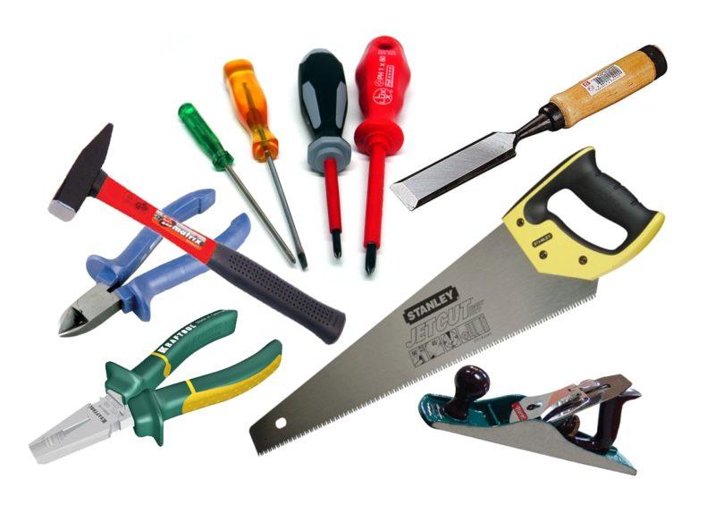 Инструменты для обувной полки: саморезы, клей, древесина