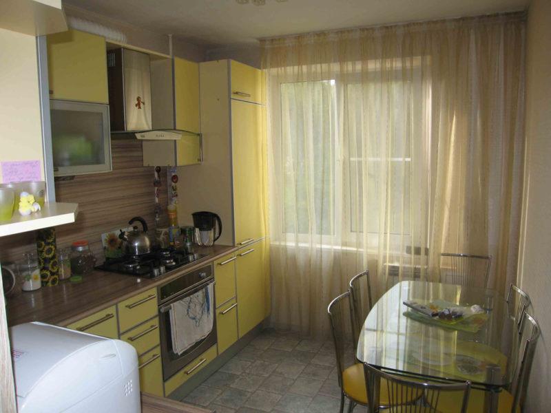 Дизайн в маленькой кухне
