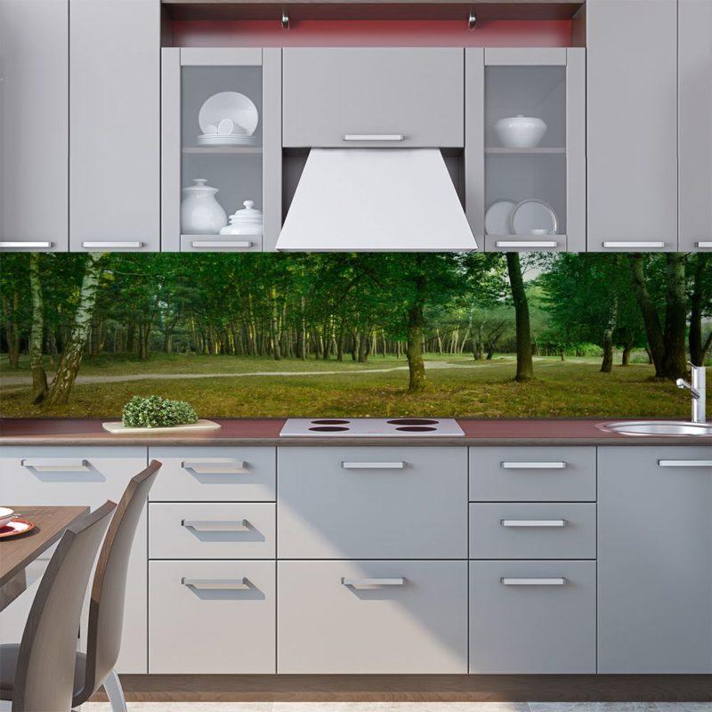 Как красиво украсить кухню наклейками