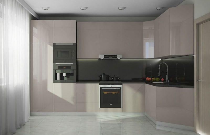 Ремонт: кухня в стиле минимализм