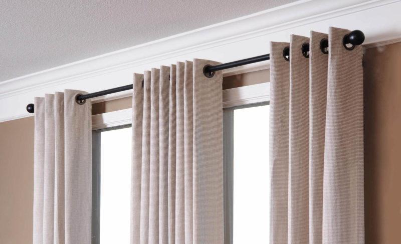Интерьер и шторы