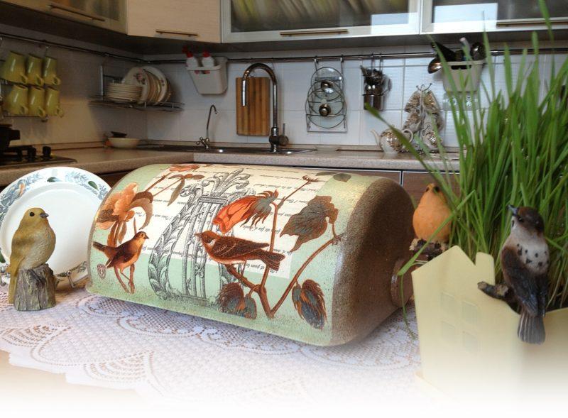 Оформление кухонной посуды
