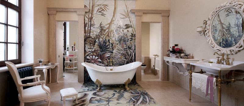 Зеркала в дизайне комнаты