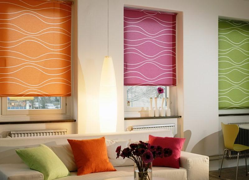 Декор интерьера: украшаем окно шторами