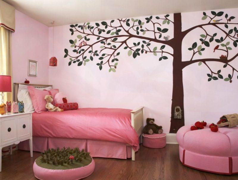Декор интерьера: украшение стен бумагой