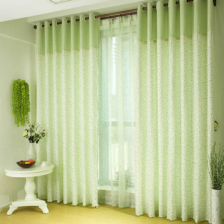 Декор интерьера: шторы в пол