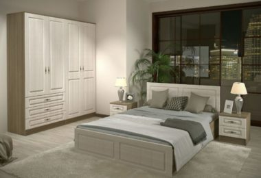 Спальня в цветовом решении