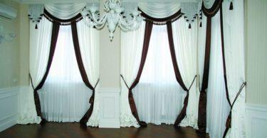 Оформление окон: шикарные шторы
