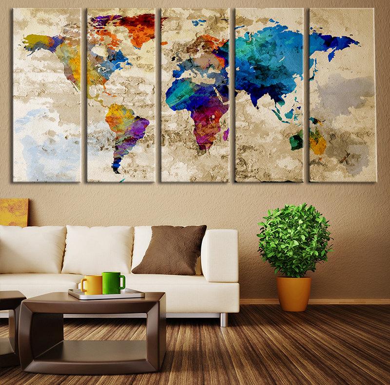 Картины как украшение комнаты